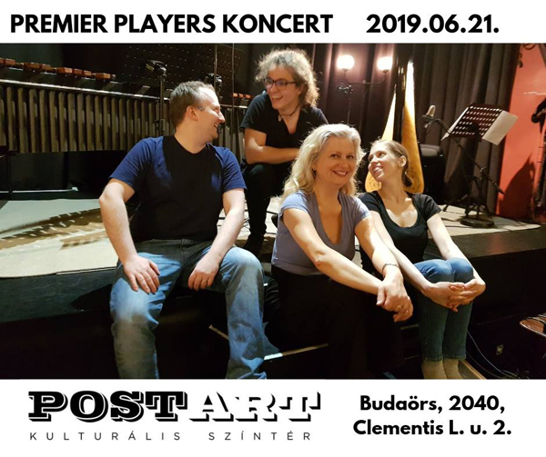 Premier Players CD bemutato koncert