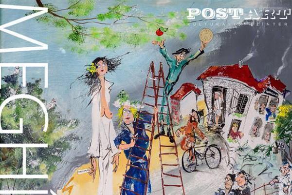 Debreczeny Zoltán kiállítása a PostART-on