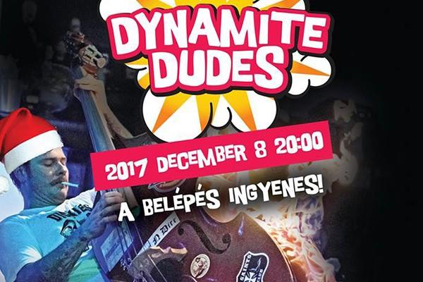 Újra Dynamite Dudes koncert a PostART-on!