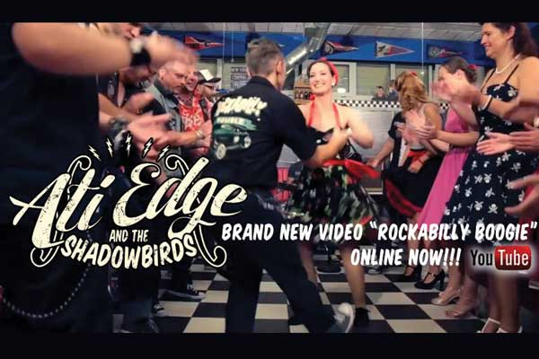 Ati EDGE and the Shadowbirds – rockabilly party a PostArtban