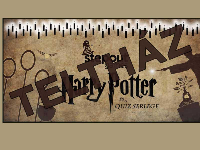 Október 18. – Teltház – Harry Potter és a quiz serlege interaktív játékest